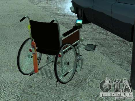 Инвалидная коляска для GTA San Andreas вид слева
