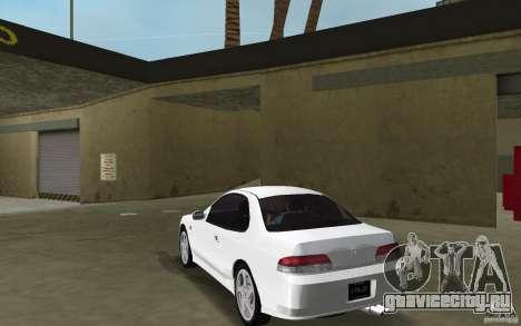 Honda Prelude 2.2i для GTA Vice City вид сзади слева