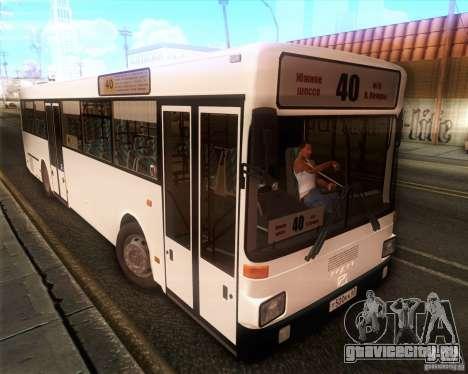 MAN SL202 для GTA San Andreas вид сзади слева