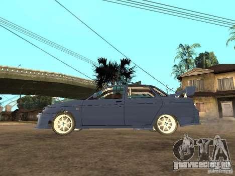 ВАЗ 21103 Street Edition для GTA San Andreas вид слева
