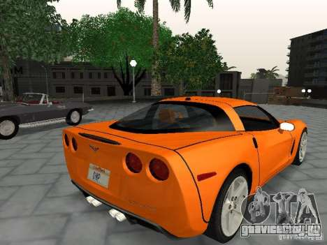 Chevrolet Corvette (C6) для GTA San Andreas вид слева