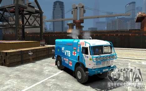 КамАЗ 4911 Rally МАСТЕР для GTA 4 вид сзади
