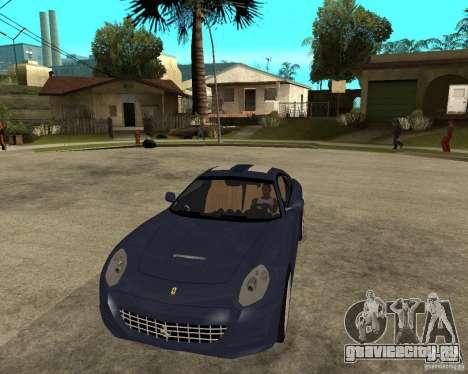Ferrari 612 Kappa для GTA San Andreas вид сзади