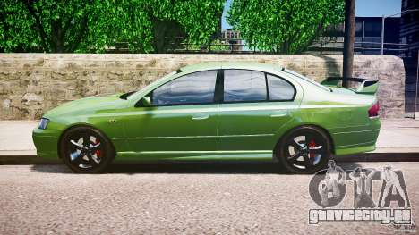 Ford Falcon XR8 2007 Rim 1 для GTA 4 вид слева