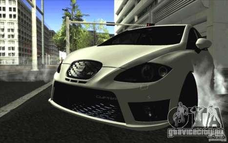 Seat Leon Cupra R для GTA San Andreas вид слева