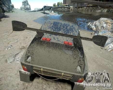 Mitsubishi Pajero Proto Dakar EK86 для GTA 4 вид снизу
