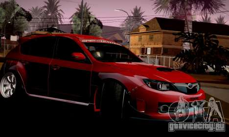 Subaru Impreza WRX Camber для GTA San Andreas