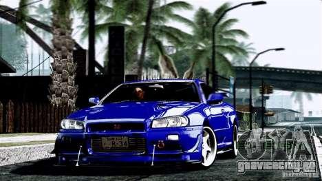 ENB By Wondo для GTA San Andreas пятый скриншот