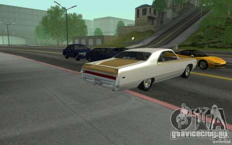 Chrysler 300 Hurst 1970 для GTA San Andreas вид слева