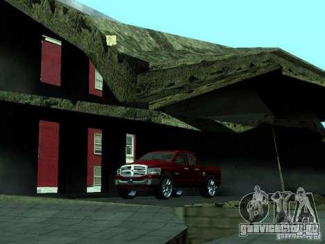 Dodge Ram 1500 v2 для GTA San Andreas вид изнутри