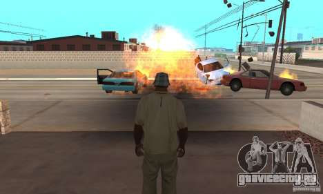 Hot adrenaline effects v1.0 для GTA San Andreas второй скриншот
