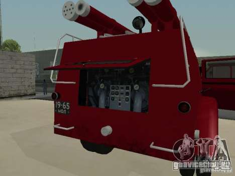 ГАЗ 51 АЦП 20 для GTA San Andreas вид сверху
