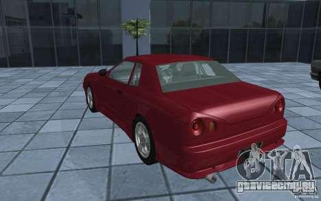 Elegy MS R32 для GTA San Andreas вид слева