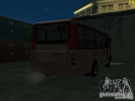 Marcopolo G6 для GTA San Andreas вид сзади