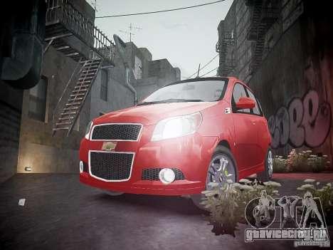 Chevrolet Aveo LT 2009 для GTA 4 вид снизу