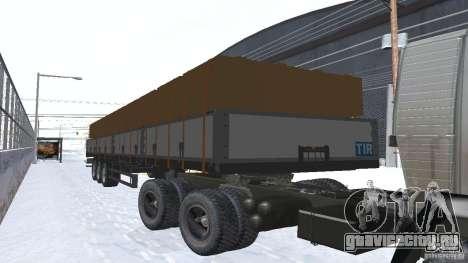 Schwarzmuller для GTA San Andreas вид слева