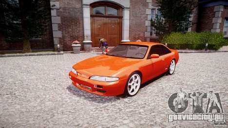 Nissan Silvia Ks 14 1994 v1.0 для GTA 4 вид сзади