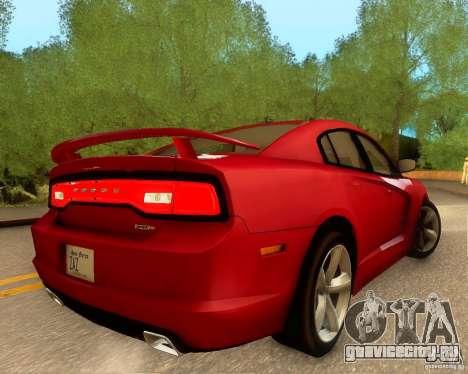 Dodge Charger SRT8 2012 для GTA San Andreas салон