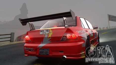 Mitsubishi Lancer Evolution VIII MR для GTA 4