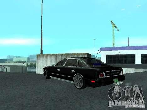 Nissan President JS для GTA San Andreas вид сзади слева