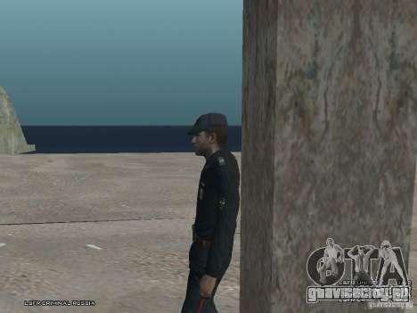 Сержант ППС для GTA San Andreas восьмой скриншот