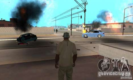 Hot adrenaline effects v1.0 для GTA San Andreas
