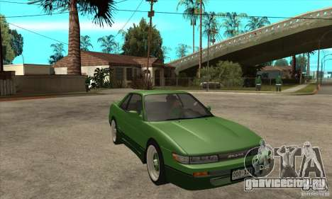 Nissan Silvia S13 1992 Club Ks для GTA San Andreas вид сзади