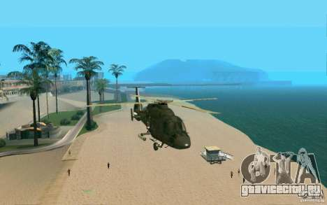 КА-60 Касатка для GTA San Andreas вид сзади