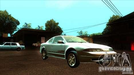 Oldsmobile Alero 2003 для GTA San Andreas вид сзади
