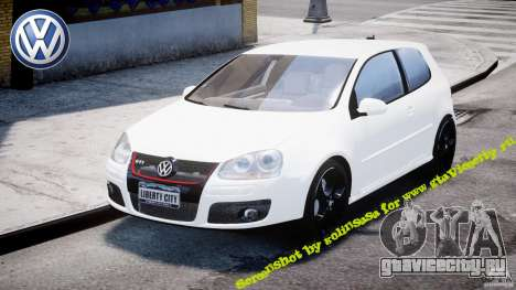 Volkswagen Golf 5 GTI для GTA 4