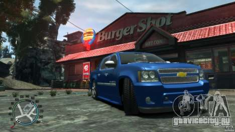 Chevrolet Avalanche v1.0 для GTA 4