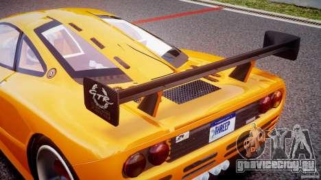 Mc Laren F1 LM v1.0 для GTA 4 вид сбоку