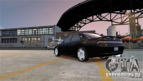 Toyota Mark II 2.5 для GTA 4 вид изнутри