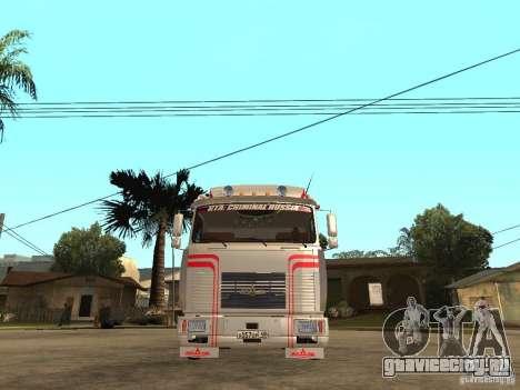 МАЗ 543205 Тюнинг для GTA San Andreas вид справа