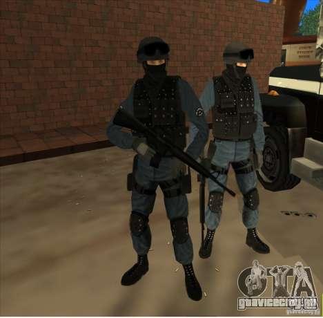 Los Angeles S.W.A.T. Skin для GTA San Andreas второй скриншот