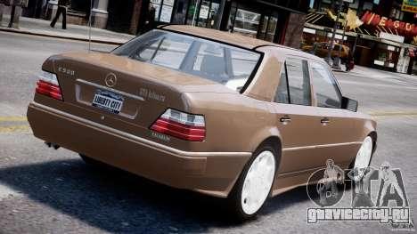 Mercedes-Benz W124 E500 1995 для GTA 4 колёса