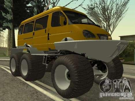 Газель 2705 болотоход для GTA San Andreas