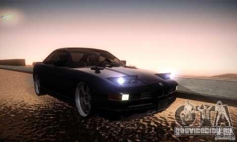 BMW Alpina B12 850i для GTA San Andreas вид сзади