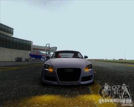 Audi TT для GTA San Andreas вид сзади слева