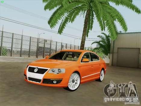 Volkswagen Magotan 2011 для GTA San Andreas салон