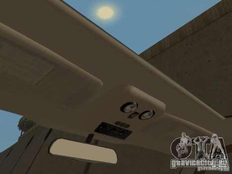 Chevrolet Suburban 2003 для GTA San Andreas вид снизу