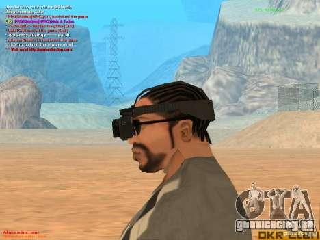 Thermal Goggles для GTA San Andreas третий скриншот