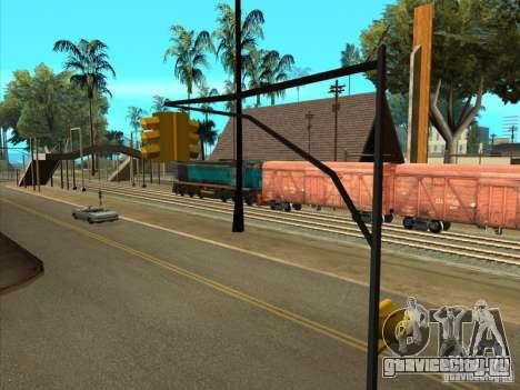 ТЭМ2УМ-420 для GTA San Andreas вид сзади