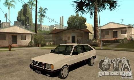 VW Gol GTS 1989 для GTA San Andreas