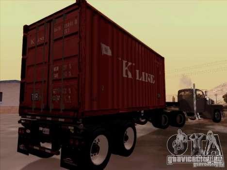 Container для GTA San Andreas вид справа