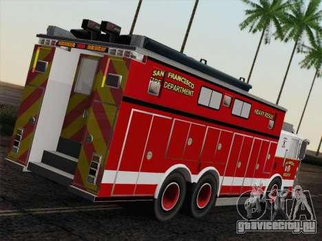 Pierce Walk-in SFFD Heavy Rescue для GTA San Andreas