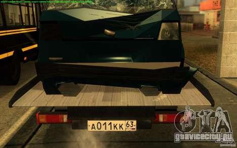 ГАЗель 3302-14 Эвакуатор для GTA San Andreas вид сзади