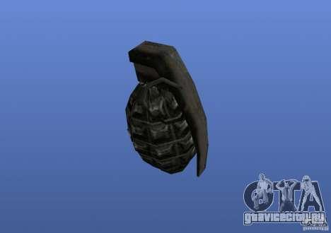 Grenade для GTA 4