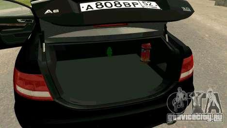 Audi A6 для GTA San Andreas вид справа