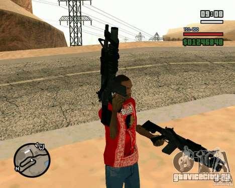 Black Ops Commando для GTA San Andreas